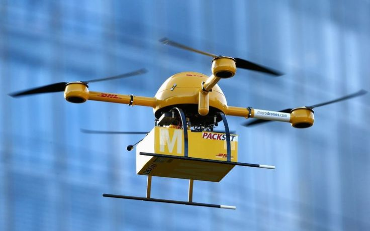 Deutsche Post Tests Deliveries With Drones Drone