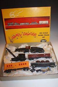 MANTUA GHC GANDY DANCER HO SCALE WORK TRAIN SET WITH BOX VINTAGE 1950 s | eBay