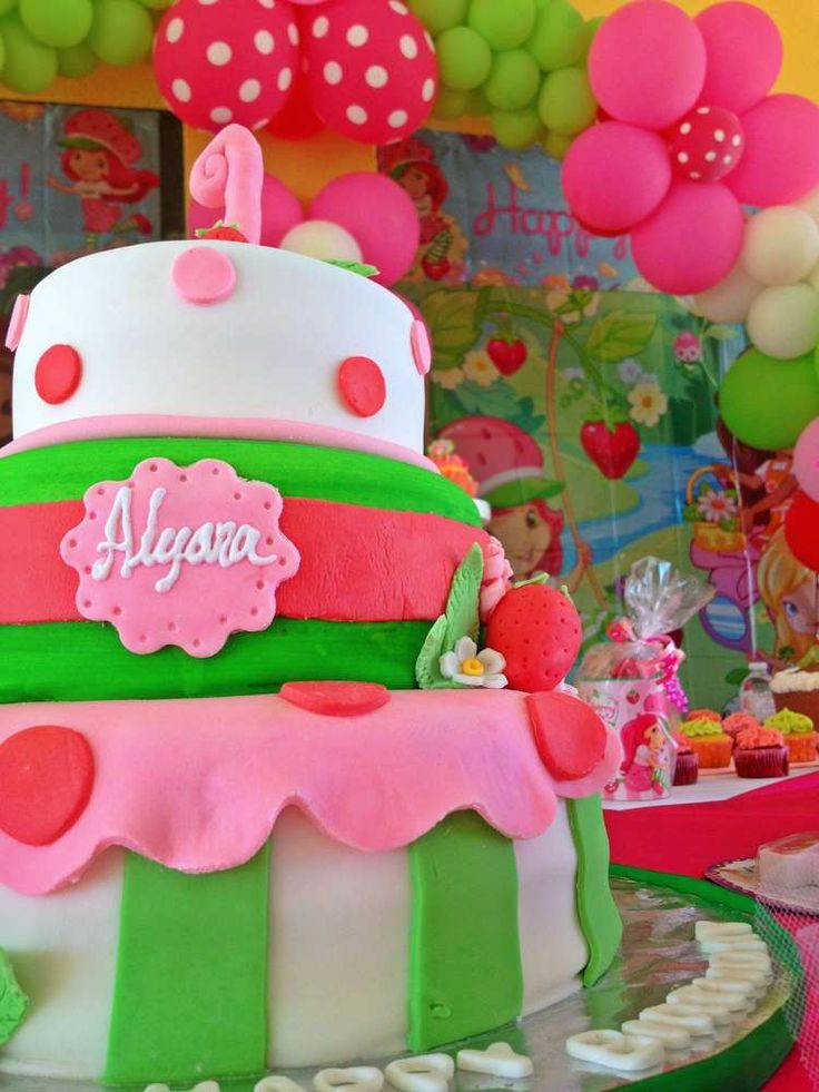 237 best Strawberry Party Ideas images on Pinterest   Girl ...