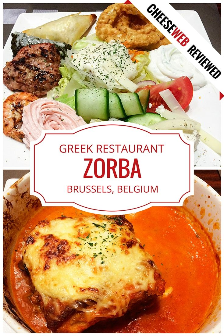 Take  a trip to the Mediterranean, without leaving Brussels, Belgium, at Zorba, Greek Restaurant, in Etterbeek.