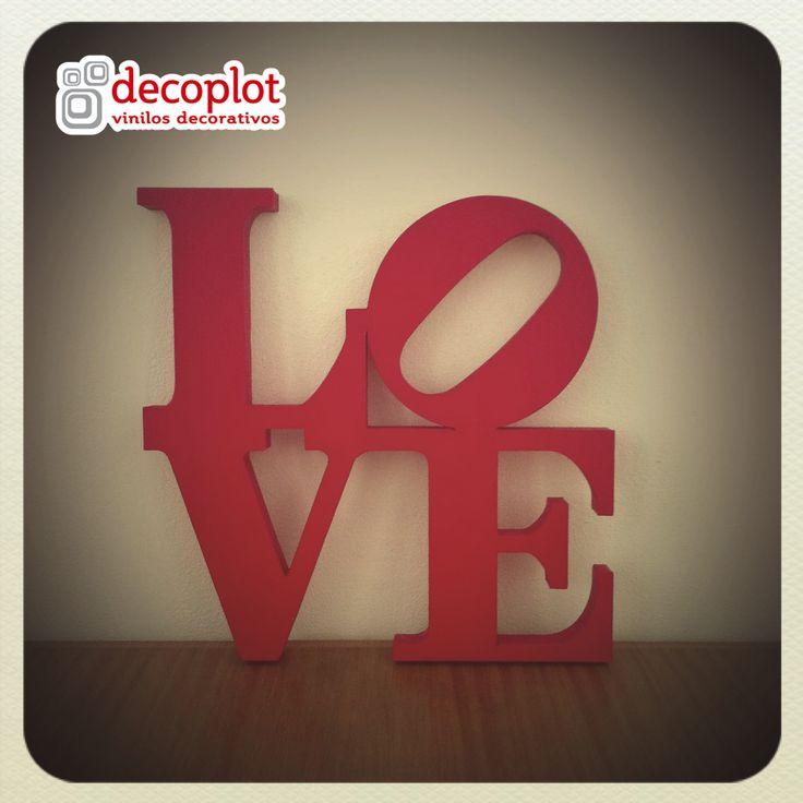 Modelo LOVE / Decoplot Vinilos Decorativos