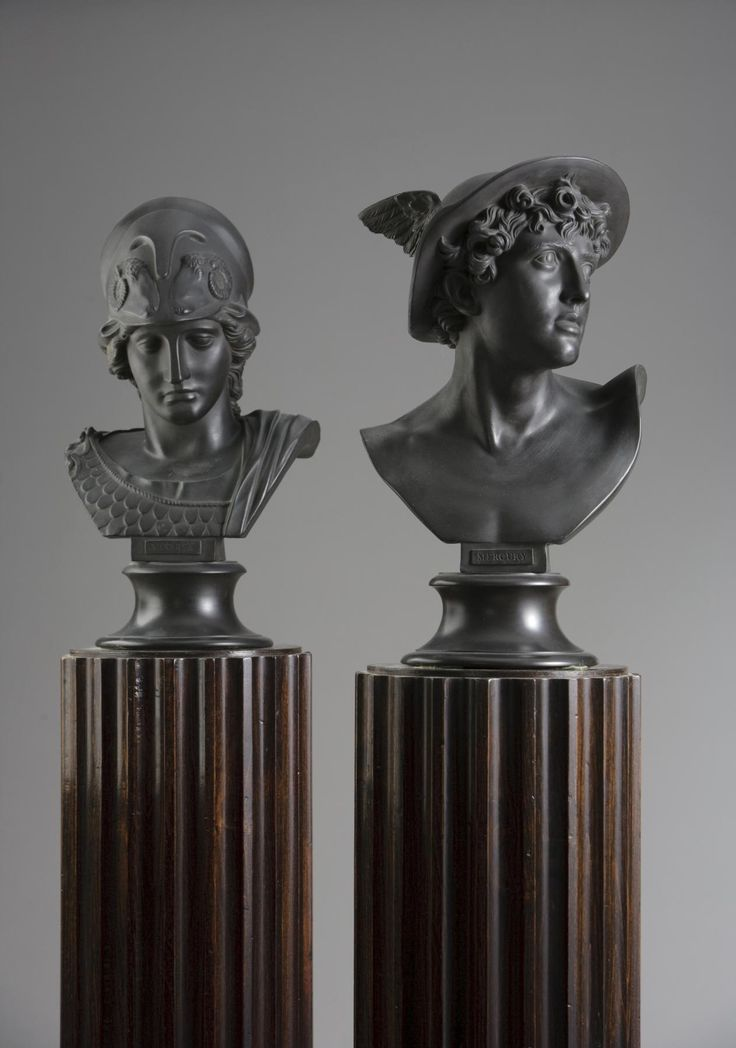 Bust of Minerva and Bust of Mercury | The Museum of the Shenandoah Valley