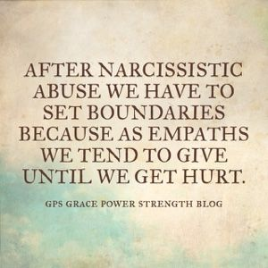 GPS-Grace Power Strength: Relationships: Setting Healthy Boundaries & Expectations