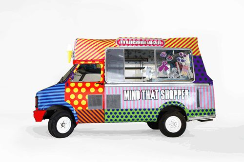 House of Holland hits the road in ice cream van shop - Retail Focus - Retail Design and Visual Merchandising - See us at EuroShop