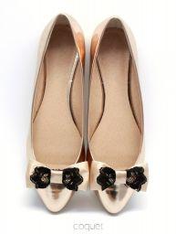 Lace Lukrecia - delikatne klipsy do butów w formie kokardek http://sklep.coquet-art.pl/lace-lukrecia.html