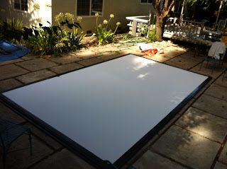 Build Your Own Projector Screen
