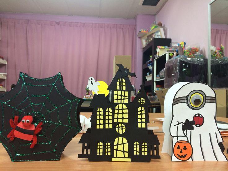 Halloween is around the corner... #halloween #decoration #kidsart