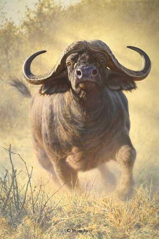 Original African Wildlife ArtBrian Jarvi 58