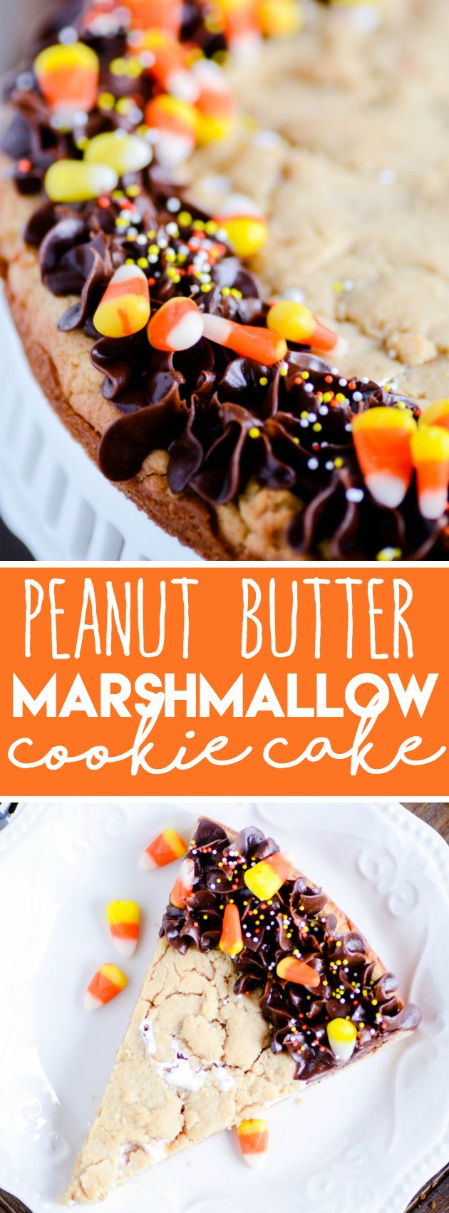 Peanut Butter Marshmallow Cookie Cake http://www.somethingswanky.com/candy-cookie-cake/?utm_campaign=coschedule&utm_source=pinterest&utm_medium=Keat%27s%20Eats&utm_content=Peanut%20Butter%20Marshmallow%20Cookie%20Cake