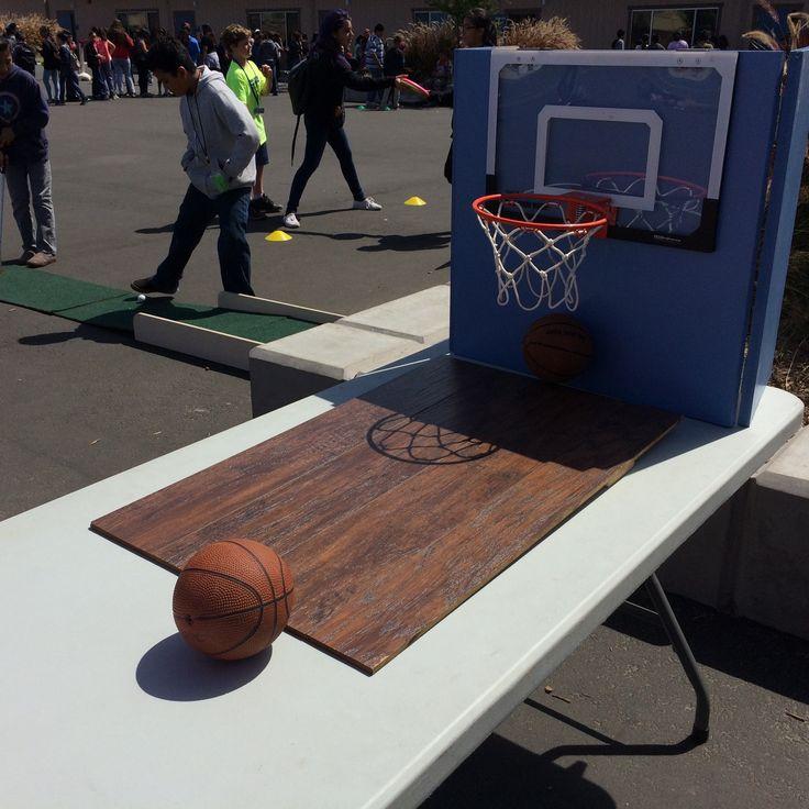Carnival Game: Basketball Toss