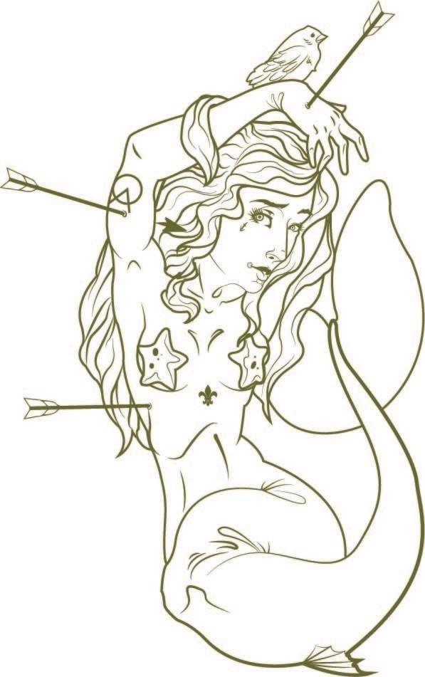 Sirena mermaid