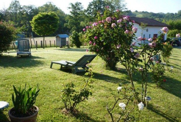 Maison Kuluxka sare le jardin