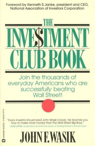 One of the hottest trends currently evolving, investment clubs are groups of ordinary people who pool their money to invest in the stock market. This easy-to-understand guide reveals the secrets of so