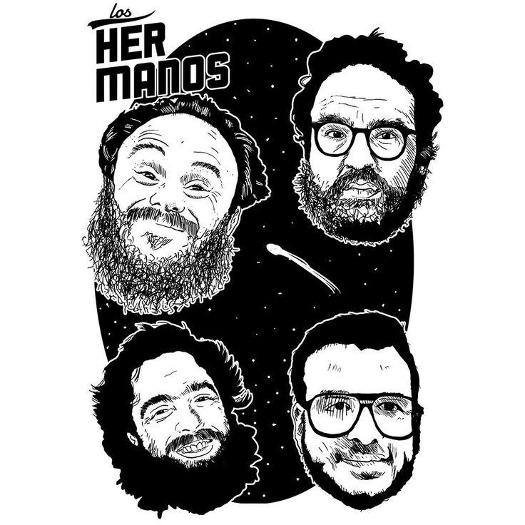 Camiseta Los Hermanos - Camisetas estampadas alternativas - Roupas estilosas