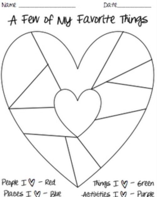 Image result for heart map template
