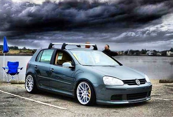 Rey J sage green VW mkv mk5 rabbit | { V d u b } | Pinterest | Rabbit and Green