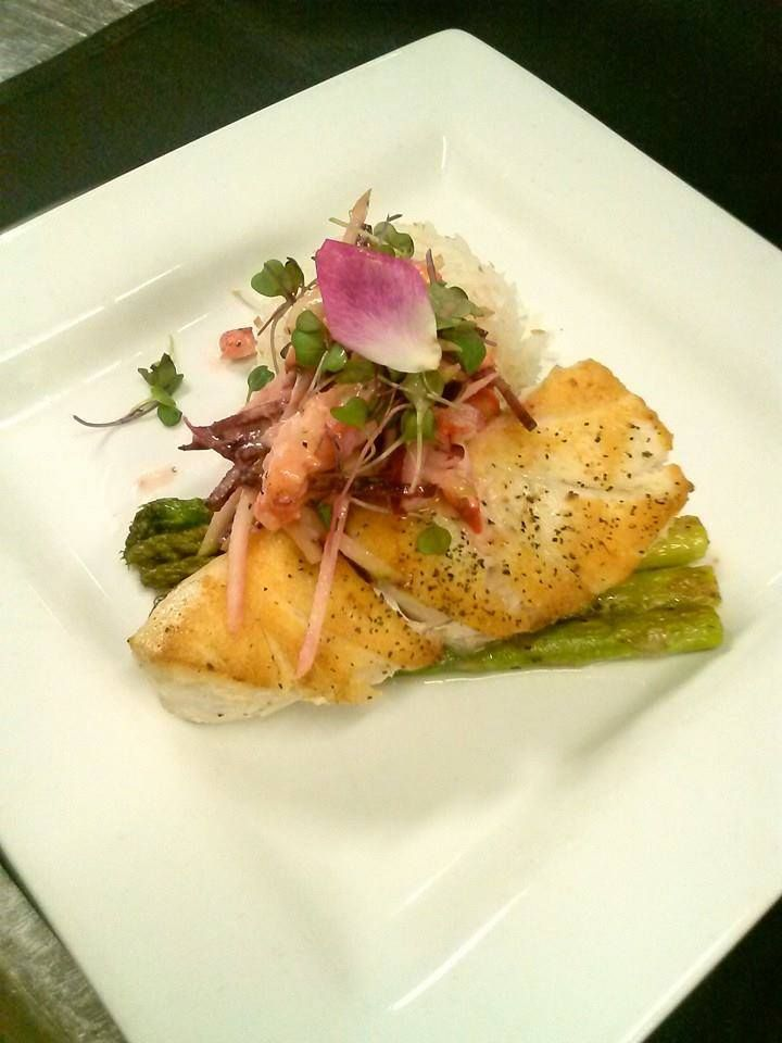 Our fresh fish today is corvina with coconut jasmine rice for Corvina fish recipes