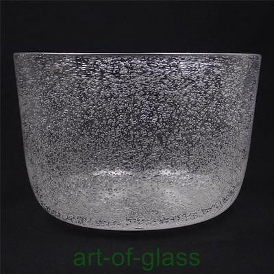 Large-Hadeland-1950s-vintage-centrepiece-clear-glass-fruit-bowl-Scandinavian