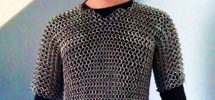 How to Make Chain Mail Armor from Start to Finish.  wow, you really can find anything on the internet