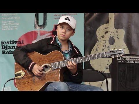 "▶ Noé REINE ""Sweet Georgia Brown"" - Samois-sur-Seine - Festival Django Reinhardt 2014 - YouTube"