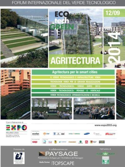 Flormart 2014 - Perlite Italiana al forum ECOtechGREEN - I giardini sospesi