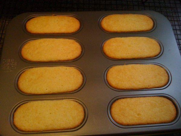 Homemade Twinkies | Sweets | Pinterest