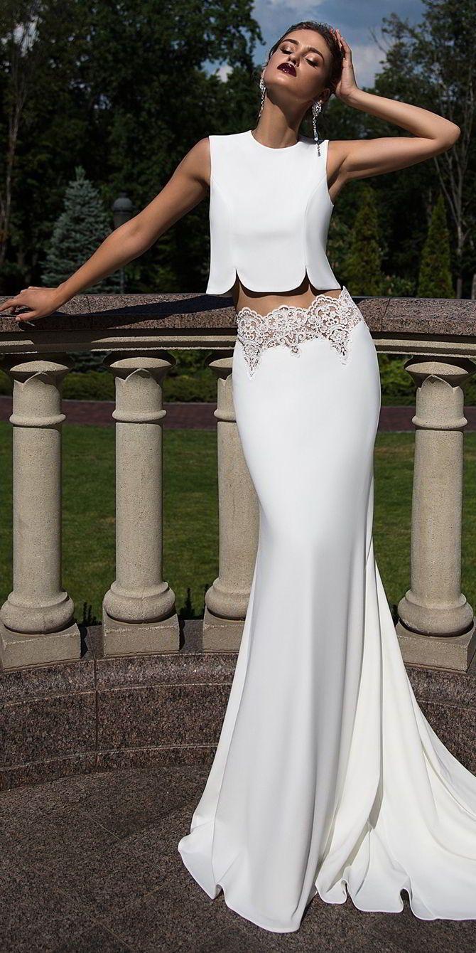 Ida Torez Fall 2017 Wedding Dress interesting