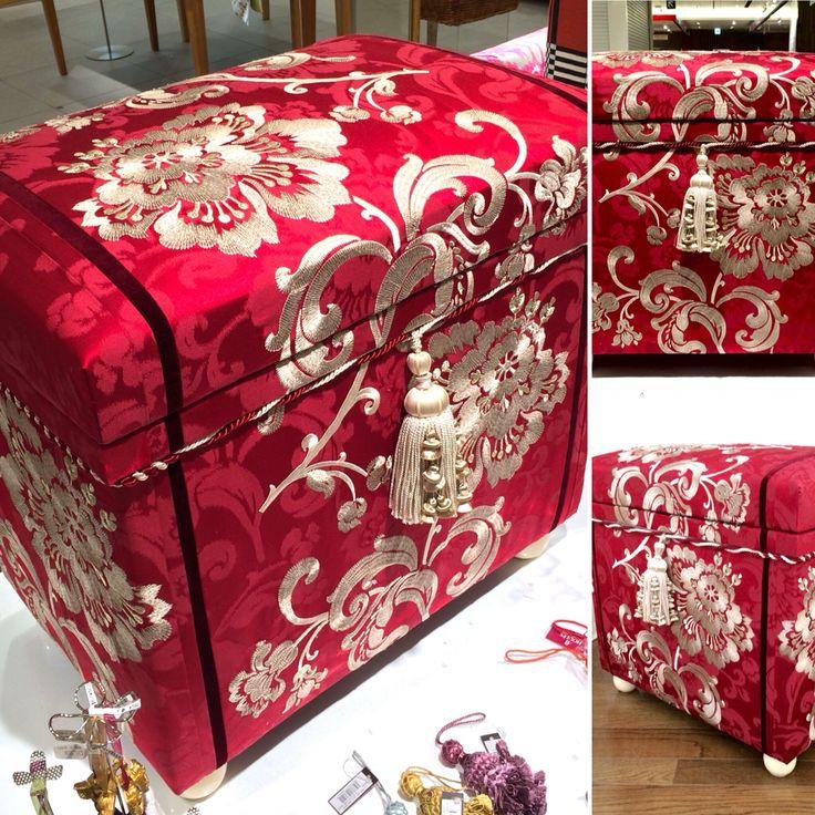 """Interior Chabako size 40K, in Fadini Borghi embroidery fabric """"Elletra"""""""