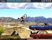 Play on Starfallzone.com free online Cars game Bike Trial! Use the arrow keys to ride your motorcycle and traverse obstacles in this Bike Trial online game