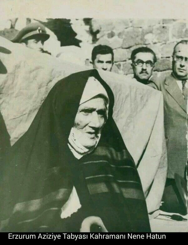 Nene Hatun is Turkish Hero. She fought againist the Russian Army.