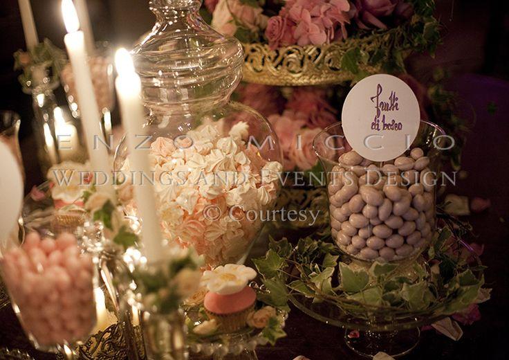 Summer Wedding in Rome #wedding #rome #weddingplanner #enzomiccio #candle #decoration #confetti