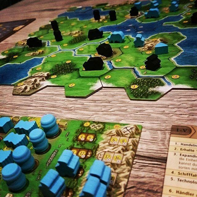 Solo-Partie #clansofcaledonia macht viel Spaß. Tolles #Brettspiel welches ich auf #Kickstarter unterstützt hatte. @jumaaljoujou #karmagames #brettspiele #boardgame #boardgames #fb