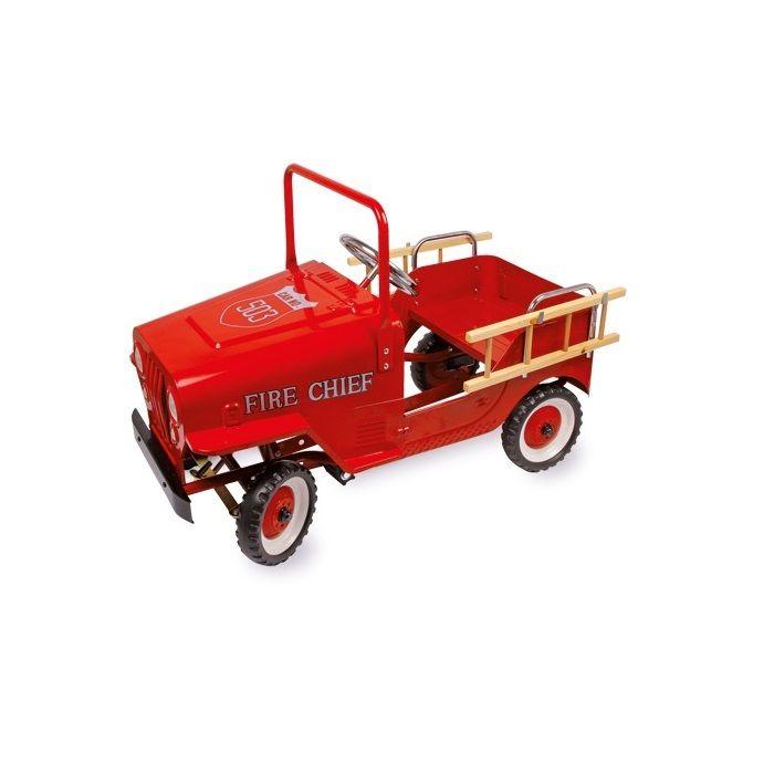 coche de bomberos de juguete para nios con pedales motricidad educacion
