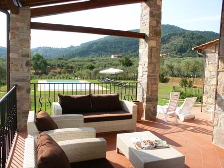 Holiday home in Lucca (Tuscany) Le Due Lanterne: external area