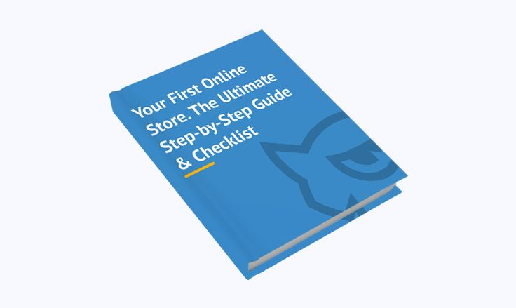 The Ultimate Step-by-Step Guide To Your First Online Store [Free eBook]