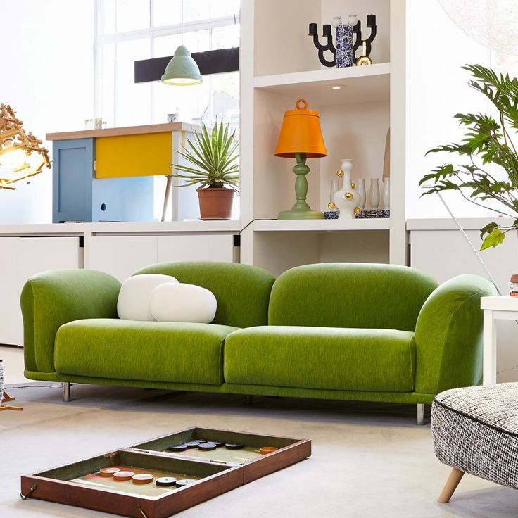 Moooi cloud sofa velour moss sofa beds pinterest for Velour divan beds