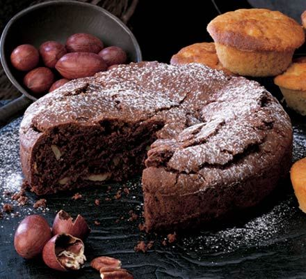 The perfect cake for brownie lovers, try a big slice warm with some ice cream