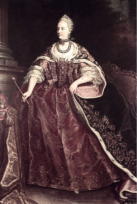 Maria Theresia by Martin van Meytens