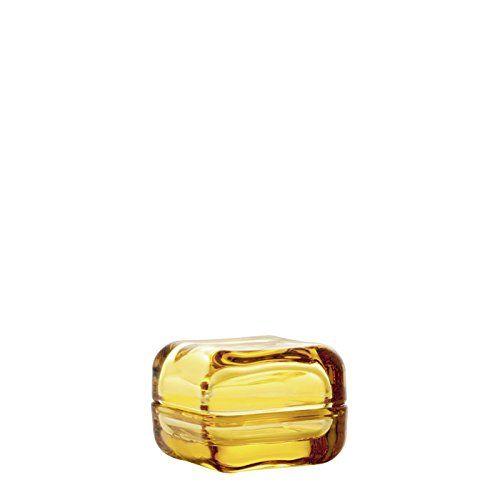 "Amazon.com - Iittala Vitriini Box Small 2.3"" X 2.3"" X 1.8"" Lemon -"