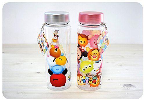 (ディズニー) Disney ツムツム 子供用 キッズ 水筒 ボトル/ 韓国生産 / ディズニー 正品 / Tsum Tsum Basic Water Bottle ピンク [並行輸入品]