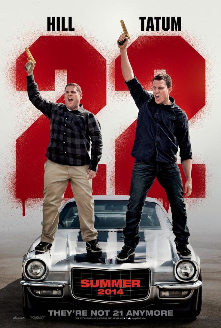 "New ""22 Jump Street"" poster, starring Jonah Hill and Channing Tatum"
