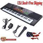 54 Keys Music Electronic Keyboard Kid Electric Piano Organ W/Mic & Adapter GoodJ