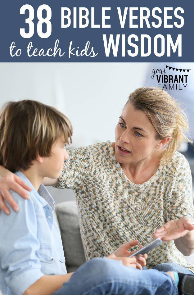 Raising World Changers: 38 Bible Verses to Teach Kids Wisdom