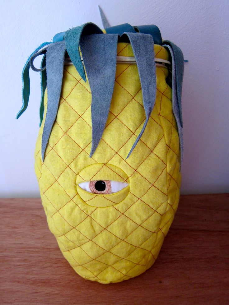 All Seeing Pineapple Duffle Bag from Rag Tag on Storenvy.