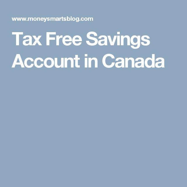Tax Free Savings Account in Canada