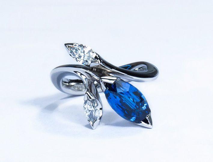Avon Multi Marquise Birthstone Ring