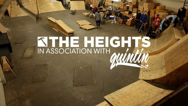The Heights: First Session by blackXgrey. This was the first real session at The Heights. We are still in full construction mode with boxes and wood everywhere but we couldn't help riding a little. More to come soon…
