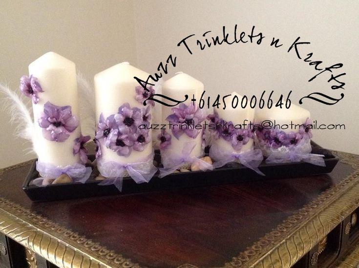 Sospeso Trasparente Candles