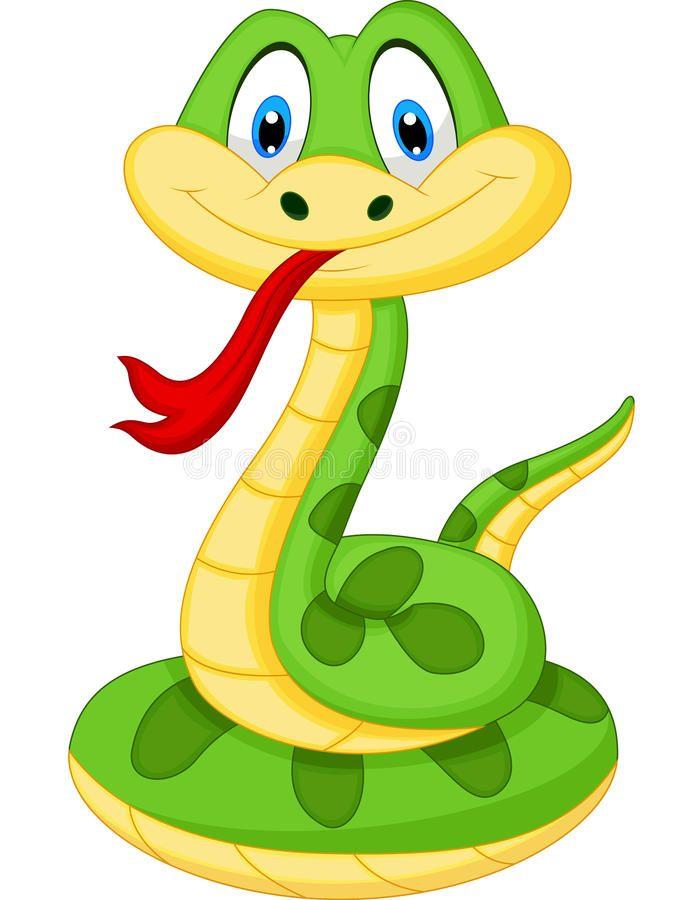 Cute Green Snake Cartoon Illustration Of Cute Green Snake Cartoon Affiliate Green Cute Snake Illustra Snake Drawing Cartoon Pics Snake Illustration