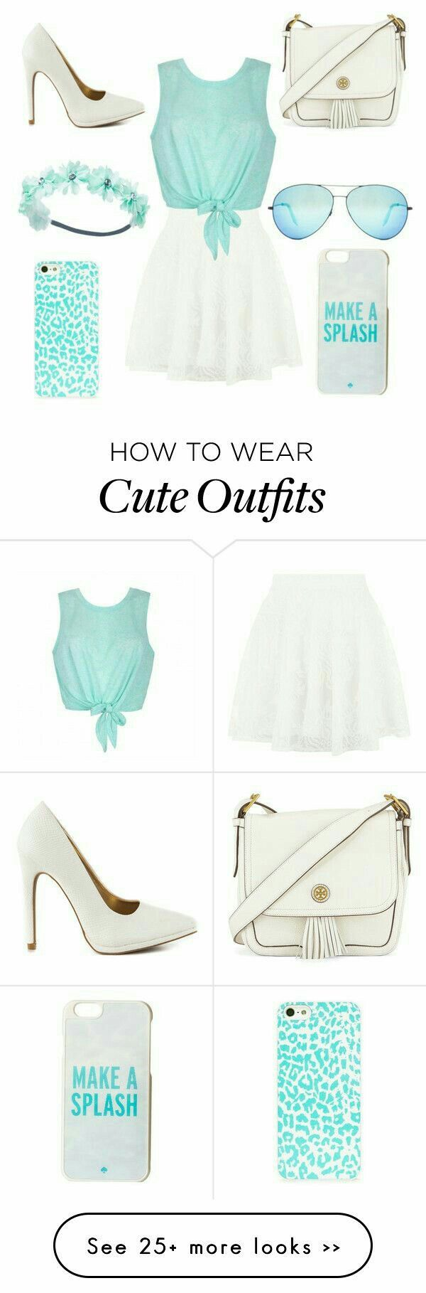 Really cute light greenish outfit for perfect tweens!!